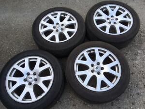 """Land Rover - Range Rover / LR3 19"""" Alloy Rims and Tires"""