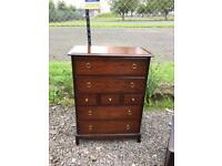 Upcycle stag Minstrel 7 drawer chest * free furniture delivery*
