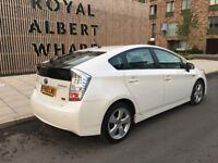pco car 2010 toyota prius t sprit hybrid electric white peral, 105k f/s/h, 12 pco n mot, hpi clear