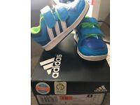 Size 4 baby adidas trainers
