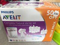 Philips Avent - Complete Natural starter set