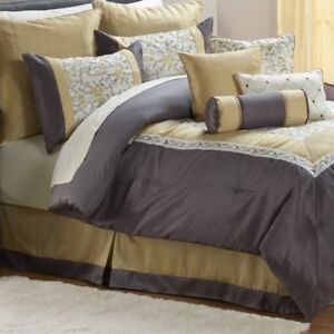 McLeland Design Harper 8pc Comforter Set- King, New