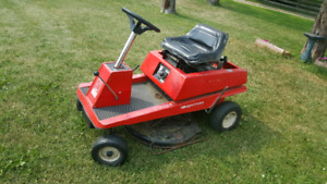"""Small """"old school"""" riding mower"""