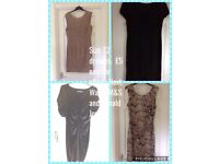 Stunning dresses. Size 12. £5 each or offers. Next, Wallis, M&S and Ronald