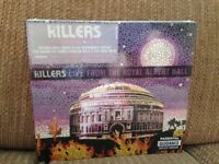 The killers live from the Albert hall