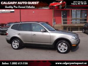 2008 BMW X3 3.0i ALL WHEEL DRIVE/LEATHER/ROOF