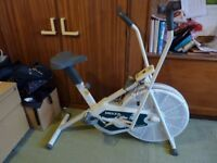 Delta Explorer Deluxe Cycle. 16 years old. Battery operated monitor. Hardly used. Good condition.