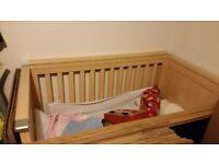 Mamas &Papas cot/bed and wardrobe