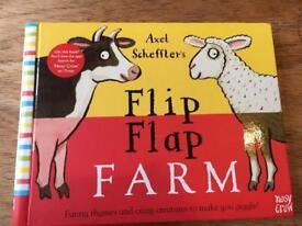 Alex Schefflers Flip Flap Farm -BRAND NEW (RRP £8.99)