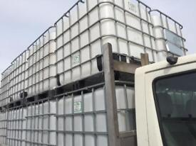 1000L IBC water Tanks wanted! Any grade! We are fully licensed