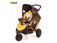 Double Push Chair 3 Wheel - Hauck Push Chair
