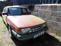 SAAB 900 S Turbo 2.0 Petrol 16v 1991 Red Classic