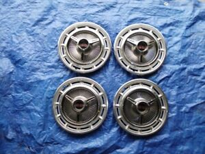 1965-66 Chev Impala SS full wheel cover hubcaps