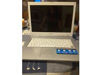 Sony Vaio laptop model VGN N11S