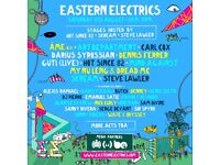2x Eastern Electrics Tickets 5.8.17