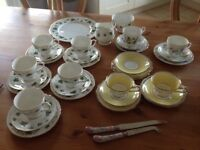 Vintage crockery / tea sets need gone by Monday!