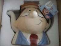 TETLEY GAFFER CERAMIC TEAPOT (Brand New & Boxed)