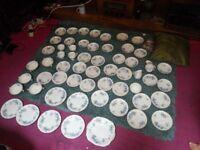 Full set of Abby bone China tea set