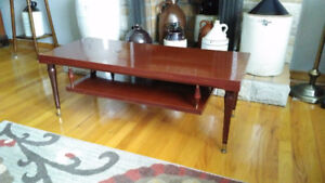 """Late 60s Coffee Table ( 42 """" Long)"""