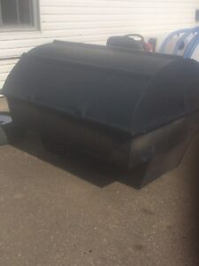5' Plastic Quad Trailer Tub With Lid