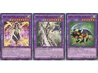 Arcana Knight Joker,Buster Blader,Dragon Destroyer Chimera Mythical Beast