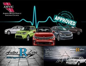 LET US BE YOUR AUTO FINANCE LIFE LINE 100% APPROVAL GOAL!