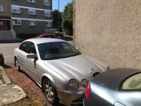 Jaguar 'S' Type 3.0 V6 Platinum Silver First Reg 2000