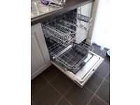 CDA WC140IN Integrated 60cm Dishwasher (Never Used, Condition As New)