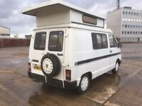 1983 AUTOSLEEPER POP TOP DIESEL CAMPERVAN FULL MOT
