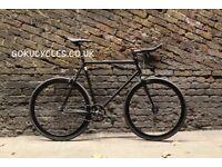 Special Offer GOKU CYCLES Steel Frame Single speed road bike TRACK bike fixed gear BIKE 5t4