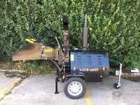 Black Highway 40HP Diesel Power , 8 inch, DCI Proffesional ,shredder <wood chipper wood chipper