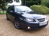 @@ LOVELY 2006 SAAB 9-5 VECTOR SPORT/WAGON TID BLUE 1.9 DIESEL,F.S.H,1 YEAR MOT AUG 18,NEW CLUTCH