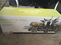 BRAND NEW unopened Raclette Grill with Fondue