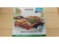 Salter Health Grill Twin Chef Kitchen 1800W Non-Stick Family Grill Burgers Steak