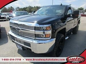 2015 Chevrolet Silverado 2500 HD 3/4 TON WORK READY LT MODEL 3 P