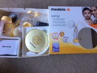 Medea SwingPhase 2 electric breast pump. Delivers more milk in less time.