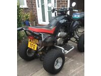 QUADBIKE, QuadZilla, Dinli 450 CC, Road Legal - Manual