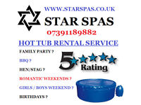 STAR SPAS - HOT TUB RENTAL SERVICE FOR WHAT EVER THE OCCASION 07391189882 !!!!