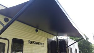 ELECTRIC AWNING FOR TRAILER OR MOTORHOME