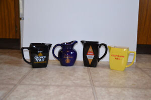 Collectible Whisky and Gin jugs
