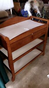 Baby change bed