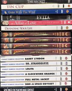 17 DVDs in excellent condition - $25 (Vancouver)