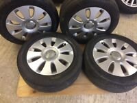 Audi A3 Alloys 16 in with Tyres 205 55 R16