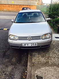 1998 VW GOLF 1.8, SWEDISH REGISTERED. FULL SERVICE HISTORY AND 6 MONTHS MOT.