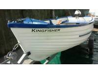 Fishing boat 12ft with trailer