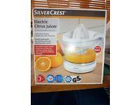 Silver Crest Electric Citrus Juicer