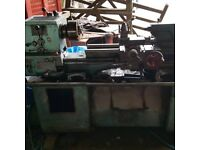 Single phase Colchester master metal lathe