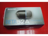 Shure Beta 52A Microphone £145