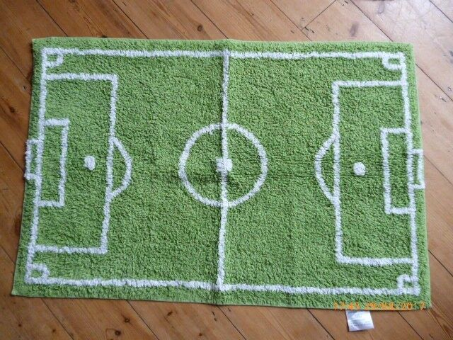 Next Football Pitch Rug