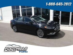 2017 Ford Fusion Titanium  - Leather Seats -  Bluetooth